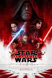 Star Wars - The Last Jedi poster
