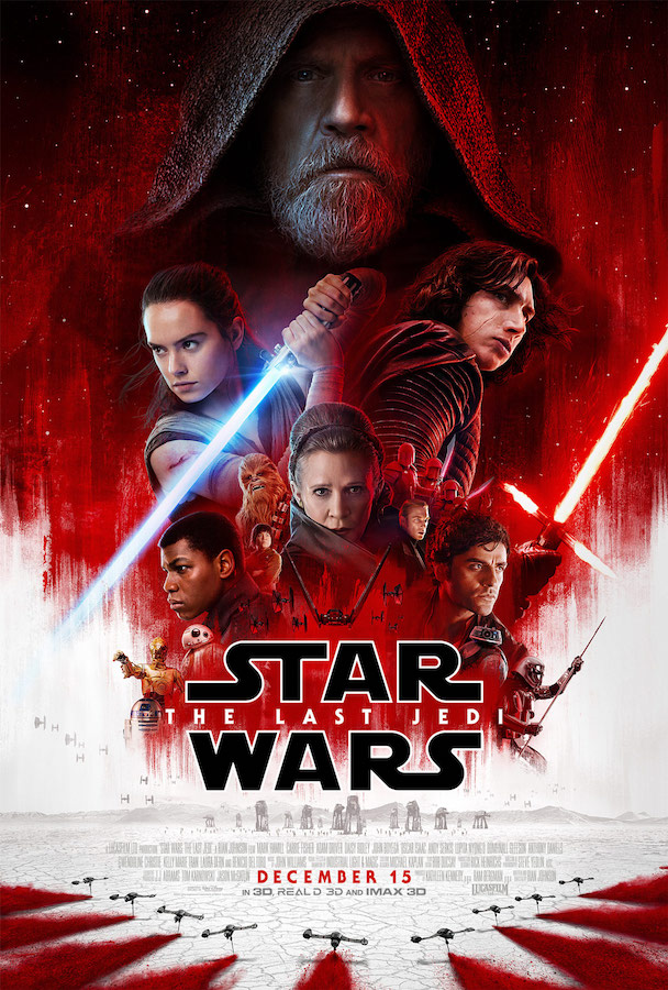 Star Wars - The Last Jedi poster
