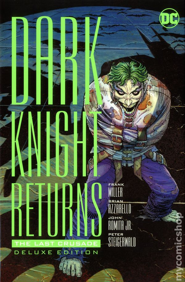 Dark Knight Returns - The Last Crusade cover