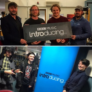 Tantale and Track Not Found on BBC Music Introducing Guernsey