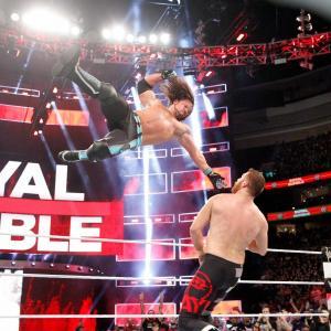 AJ Styles and Sami Zayn