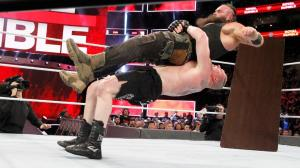 Lesnar and Strowman