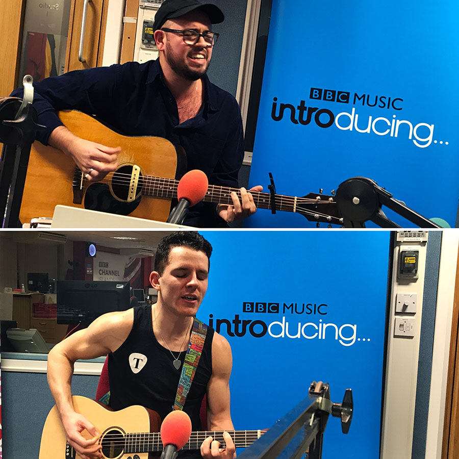 Robert J. Hunter and Toby Falla on BBC Music Introducing in Guernsey
