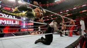 Rey Mysterio and Roman Reigns
