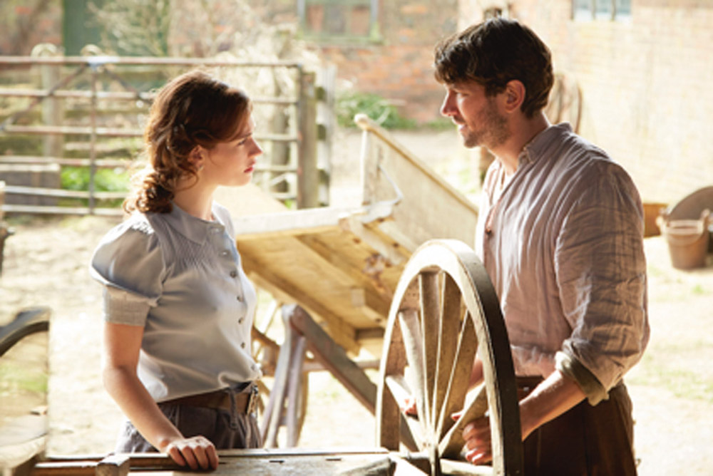 The Guernsey Literary And Potato Peel Pie Society - Lily James and Michiel Huisman