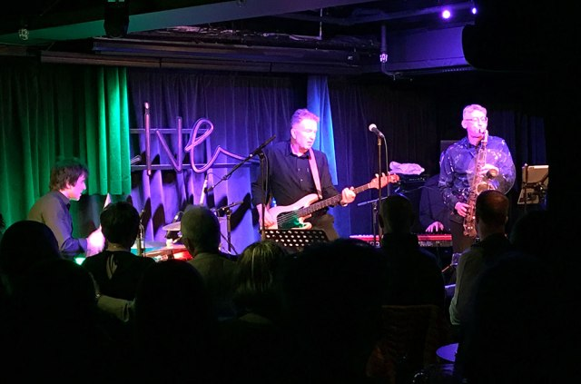 Tom Robinson Pizza Express Live Holborn 160217
