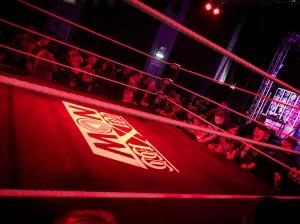 WXW wrestling ring