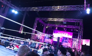 The Dome in Tufnell Park as set up for WXW