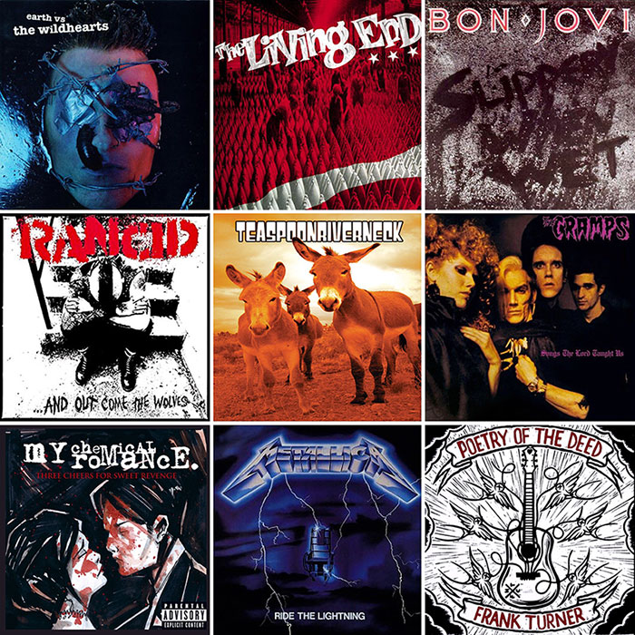 Top albums montage