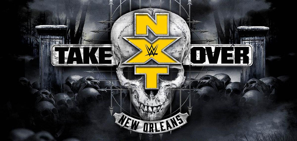 NXT TakeOver New Orleans logo