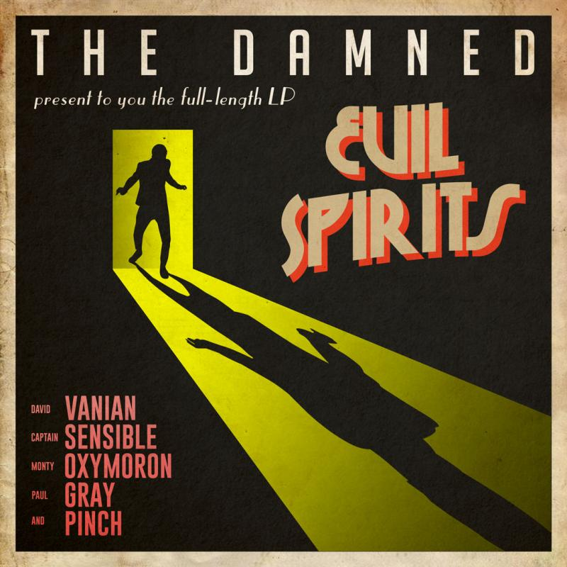 The Damned - Evil Spirits cover