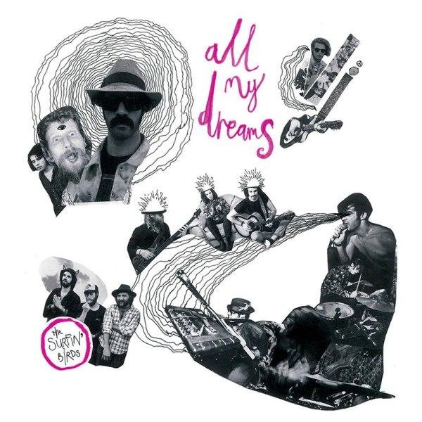 The Surfin' Birds - All My Dreams album cover