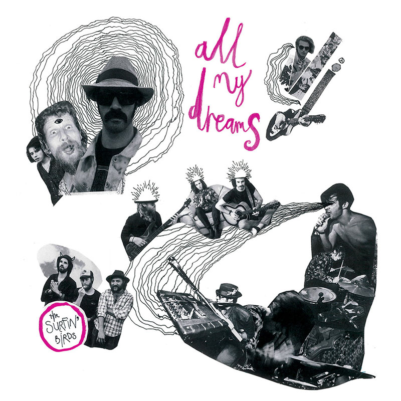 The Surfin' Birds - All My Dreams album cover