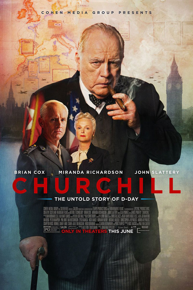Churchill 2017 movie poster