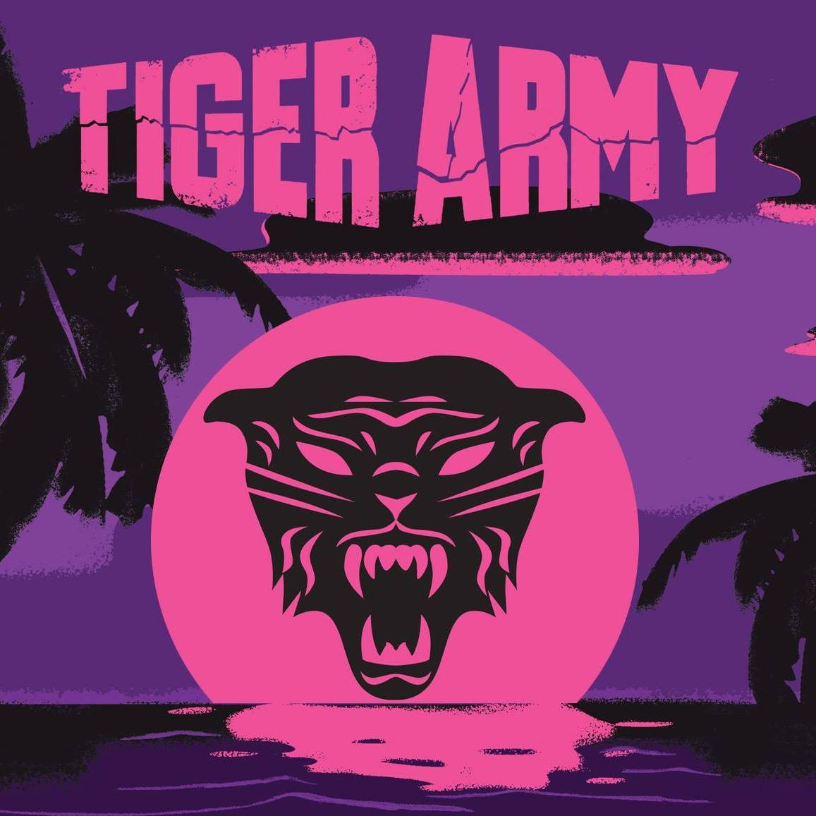 Tiger Army - Dark Paradise EP cover