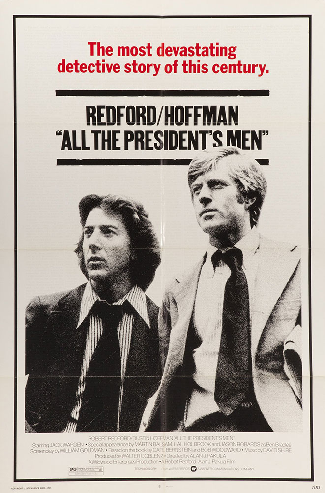 All The Presidents Men - poster