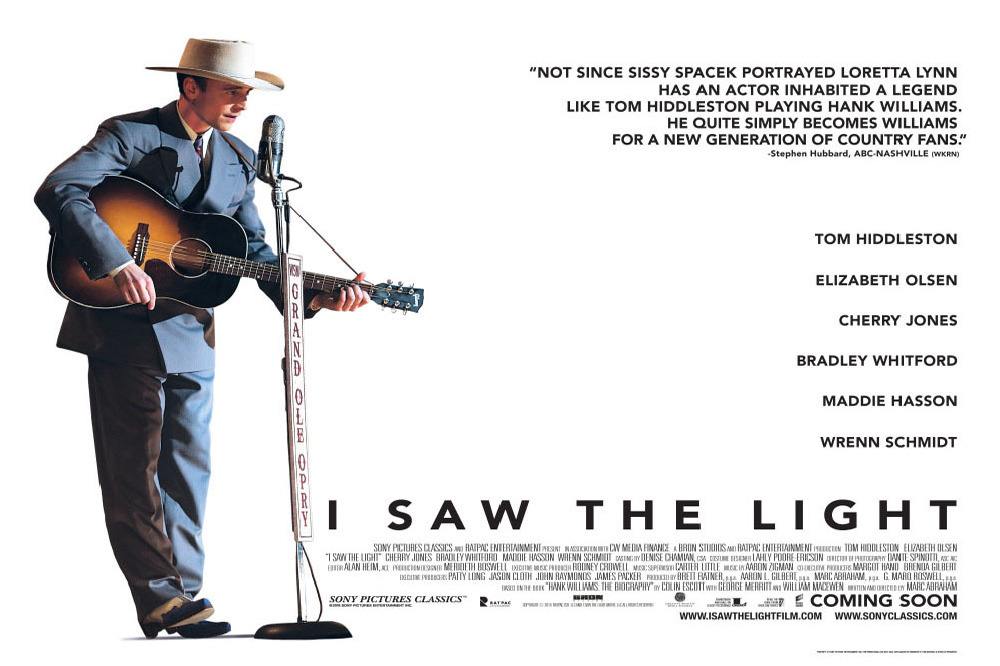 I Saw The Light movie poster