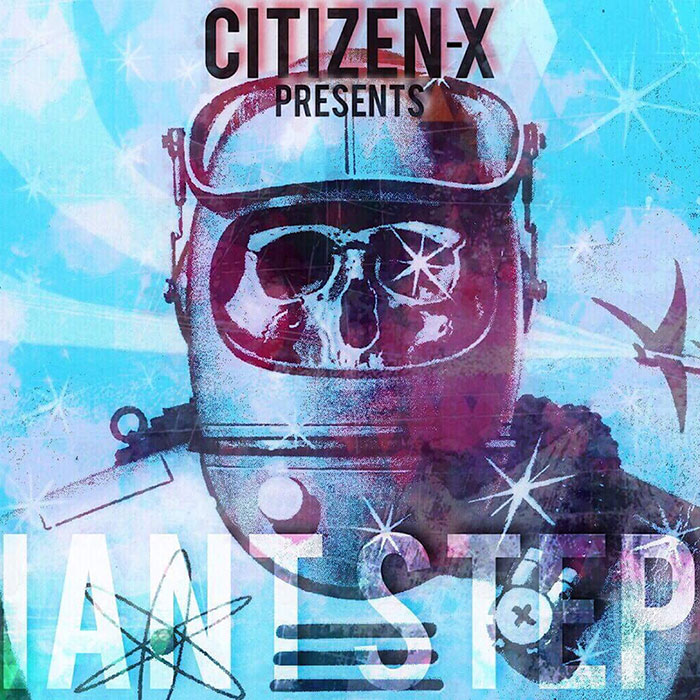 Citizen-X - Giant Steps EP - cover artwork