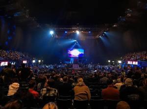 Wembley Arena set up for Progress Wrestling