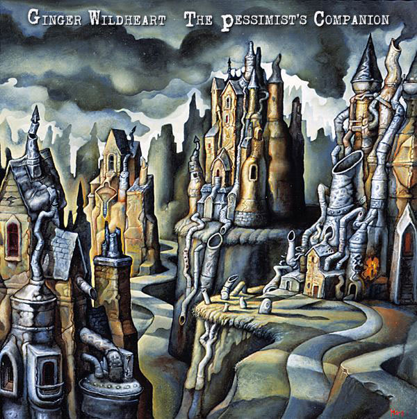 Ginger Wildheart - The Pessimist's Companion - album cover