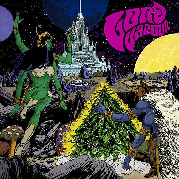 Lord Vapour - Semuta - album cover by MontDoom