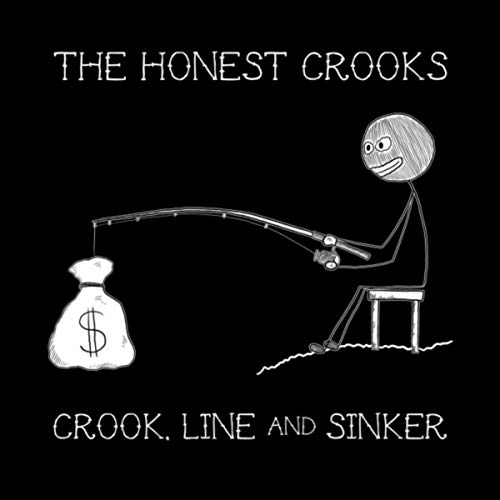 The Honest Crooks - Crook Line And Sinker EP cover