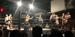Eight-man tag team match