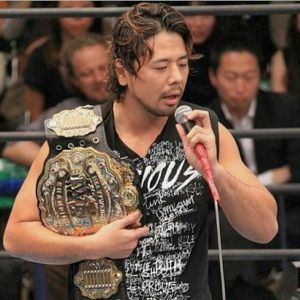 Nakamura as IWGP Heavyweight Champion