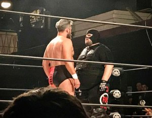 Trent Seven and Los Federalres Santos Jr