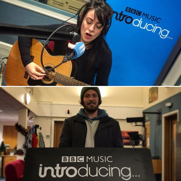 Hollie Lucia and Mike Meinke of Mike's Magic Trip on BBC Music Introducing