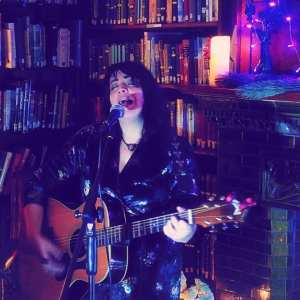 Hollie Lucia at The Priaulx Library by Mike Bonsall