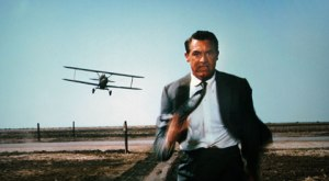 North By Northwest - Cary Grant and cropduster