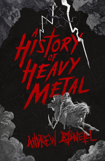 A History Of Heavy Metal - Andrew O'Neill - book cover