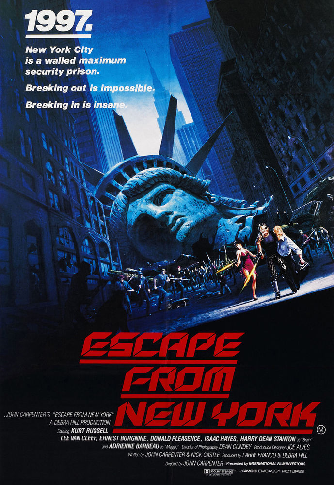 Escape From New York Poster.Escape From New York Tommy Girard