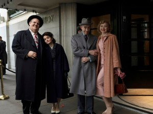 Laurel & Hardy and their wives in Stan & Ollie