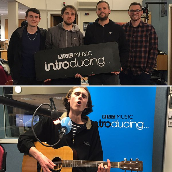 Burning At Both Ends and Elliot Falla at BBC Introducing in Guernsey