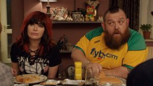 Fighting With My Family - Lena Headey and Nick Frost