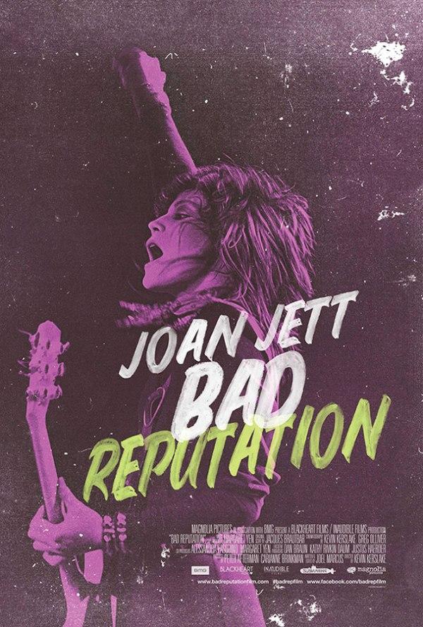 Joan Jett Bad Reputation - movie poster