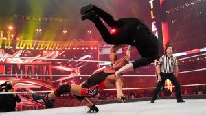 Kurt Angle and Baron Corbin