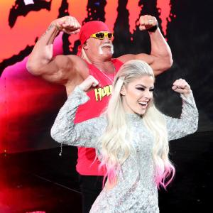 Hulk Hogan and Alexa Bliss