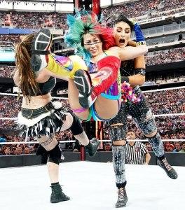 Sarah Logan, Asuka and Sonya Deville