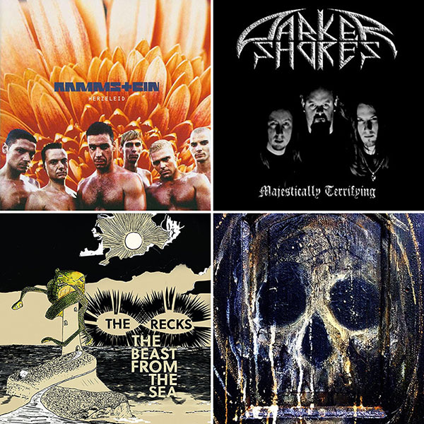 Playlist montage - April 2019 - Rammstein, Darker Shores, The Recks, The Men That Will Not Be Blamed For Nothing