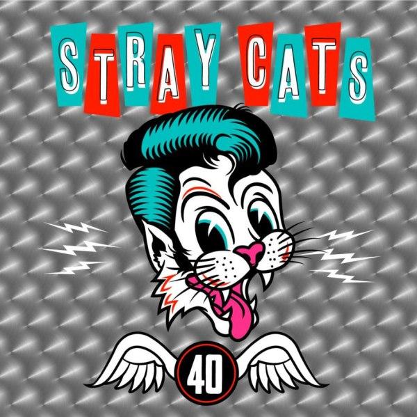 Stray Cats - 40 - cover art