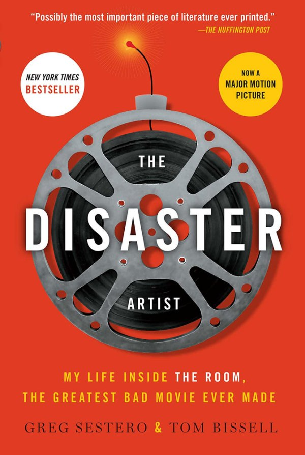 The Disaster Artist - book cover