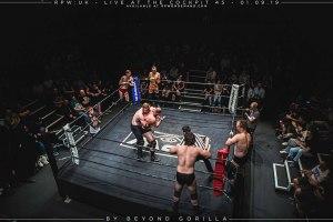 Opening six man tag team match - Beyond Gorilla