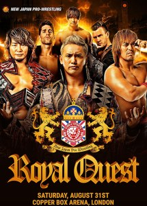 NJPW Royal Quest poster