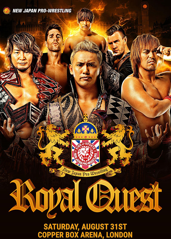 NJPW Royal Quest poster
