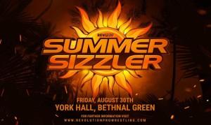 RevPro Summer Sizzler 2019 poster
