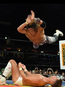 Tanahashi delivers the High Fly Flow