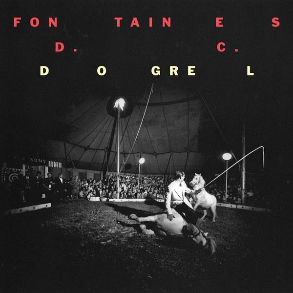 Fontaines DC - Dogrel - album cover